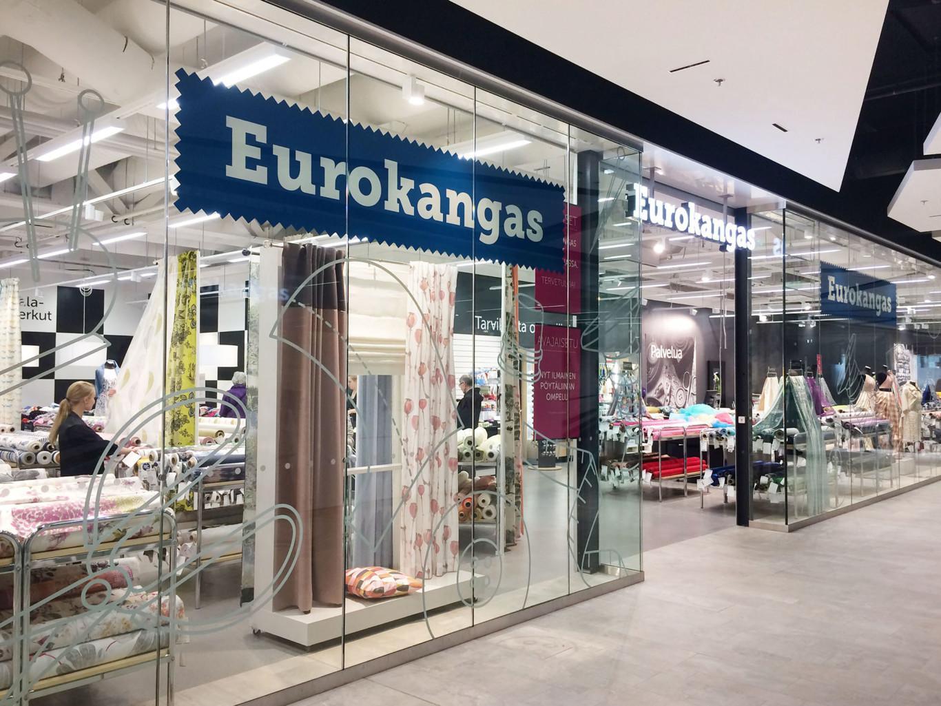 Eurokankaan myymälä